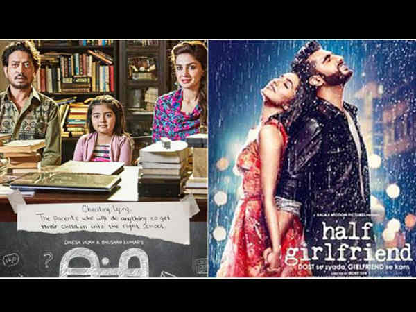 Hindi Medium Vs Half Girlfriend Saturday (2 Days) Box Office Collection!