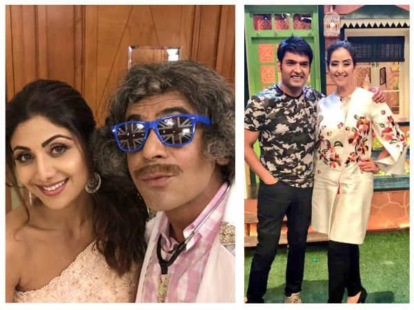 Shilpa Shetty Thanks Sunil For Making People Laugh; Are Celebs Taking Kapil-Sunil's Sides Like Fans?