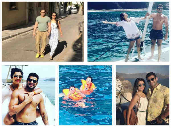Karan Patel & Ankita Bhargava's Greece Holiday Pictures Will Give You Major Vacation Goals
