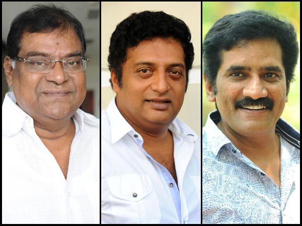 Kota Srinivas Rao, Prakash Raj & Rao Ramesh - The Versatile Trio Of Tollywood