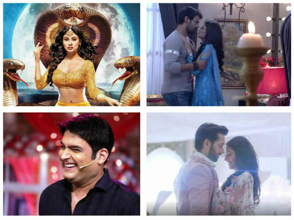 Latest TRP Ratings: Naagin 2 Is Back To Top 1 Spot; Ishqbaaz Out Of The Race; TKSS Ratings Improve!