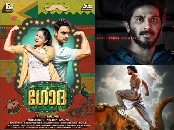 Box Office Chart (May 15 - 21)! Godha Joins The Race With CIA - Comrade In America & Baahubali 2!