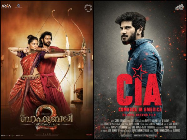 CIA - Comrade In America's Fine Start, Baahubali 2's Dominance & Other Mollywood News Of The Week!