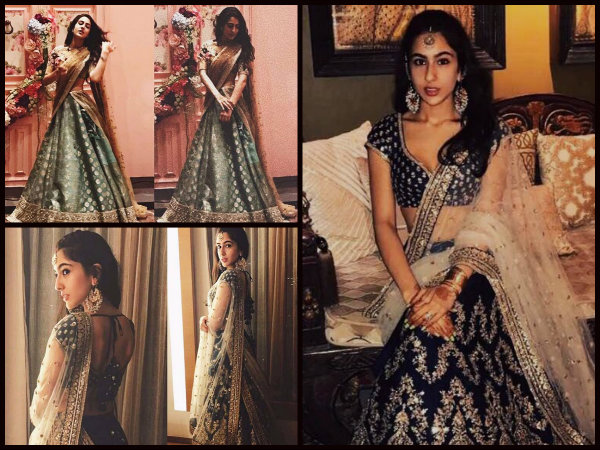 Move Over Deepika Padukone! Sara Ali Khan Is Sabyasachi's New Muse & Her Pictures Are Exquisite!