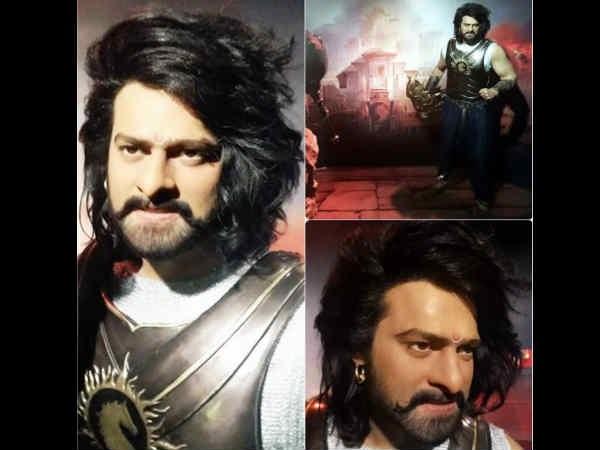 VIRAL PICS! Baahubali 2 Actor Prabhas Gets A Wax Statue At Madame Tussauds