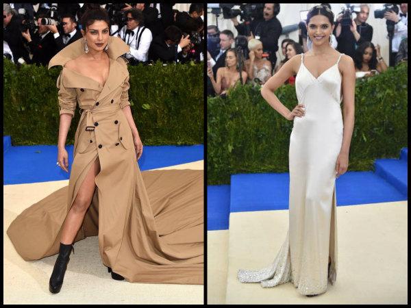 FACE-OFF! Priyanka Chopra's Swag OUTSHINES Deepika Padukone's Gorgeousness At Met Gala [Pictures]