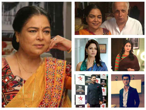 SHOCKING! Reema Lagoo No More; Television Actors React To Veteran Actress' Death