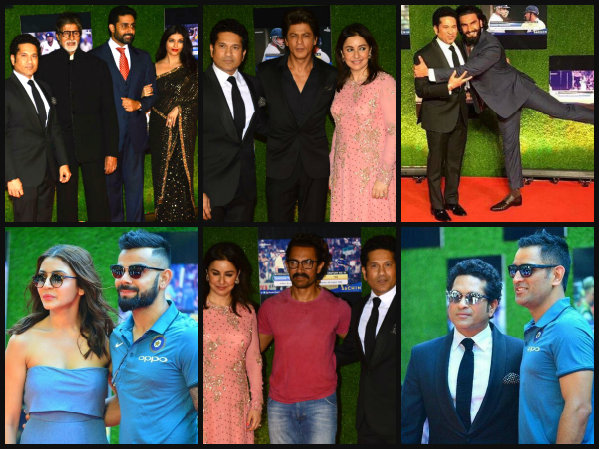 PICTURES! Aishwarya Rai, Shahrukh, Aamir, Ranveer & Others At The 'Sachin A Billion Dreams' Premiere