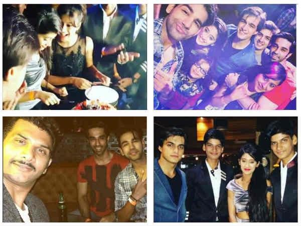 Yeh Rishta Kya Kehlata Hai's Shivangi Joshi Celebrates Birthday With Mohsin Khan & Others (PICS)