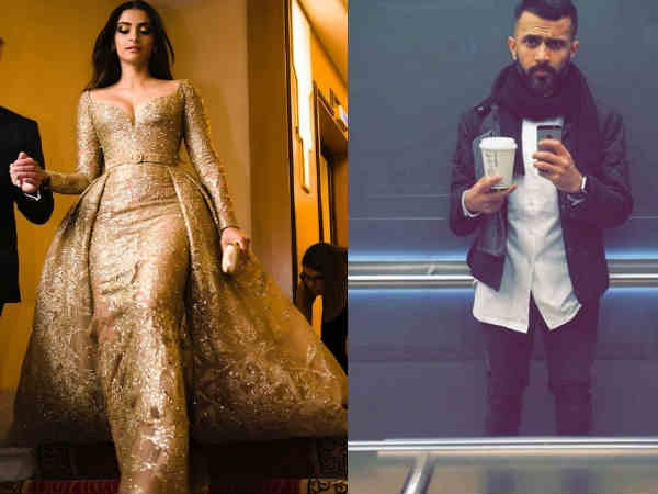 LOVE KNOWS NO DISTANCE! Sonam Kapoor's Beau Anand Ahuja Kept A Close Eye On Her Cannes 2017 Look