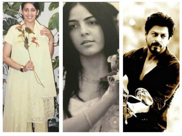 Blast From The Past! Did You Know Shahrukh Khan Named Smriti Irani's Stepdaughter?