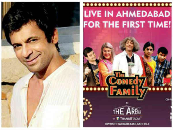 Here's What Sunil Grover Has To Say About Legal Trouble Over His Ahmedabad Show…