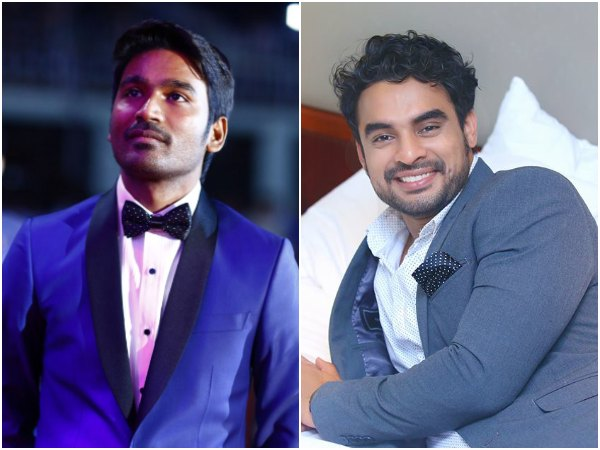 Tovino Thomas's Next Produced By Dhanush Gets A Title!