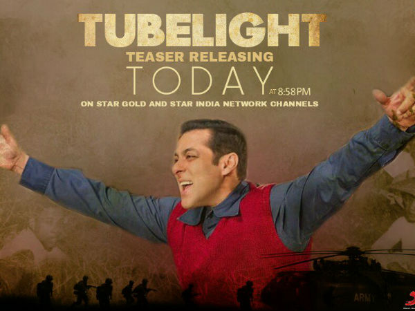 WATCH IT NOW! Tubelight Teaser Is Out & Salman Khan Is Surely Going To Take Bollywood By Storm!