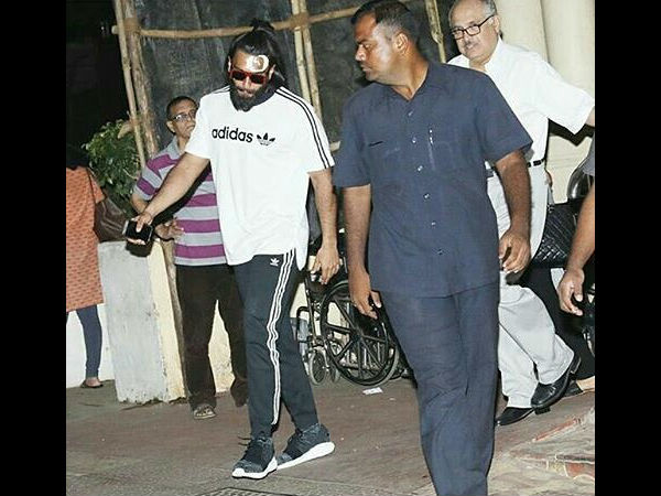 In Pictures: Ranveer Singh Gets Injured On Padmavati Set But What He Did Next Will Win Your Heart!