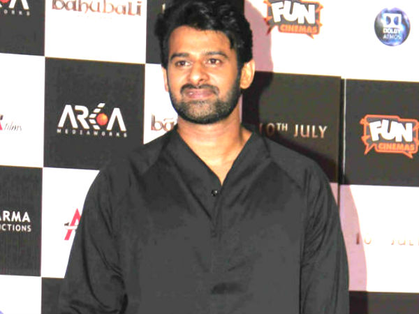 Sujeeth & Prabhas Are Trying To Make Something New