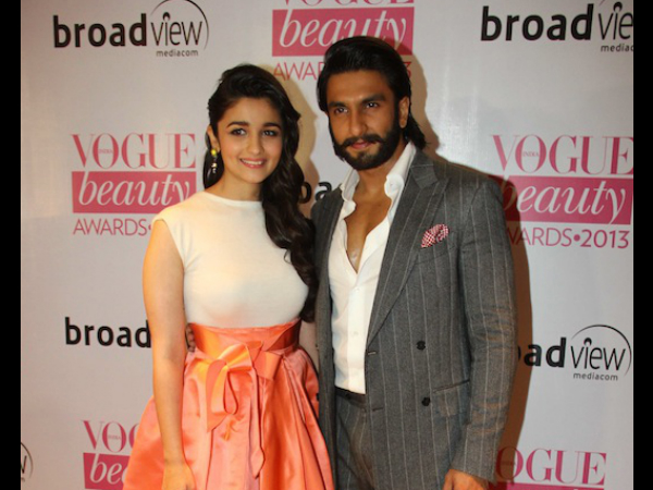 Alia On Ranveer