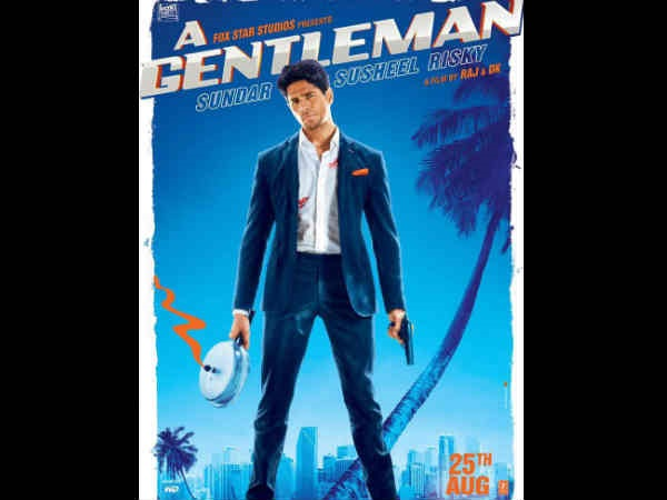 Sidharth Malhotra revealed 'A Gentleman' first look on Twitter!