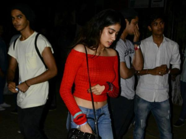 Jhanvi Is Reserved