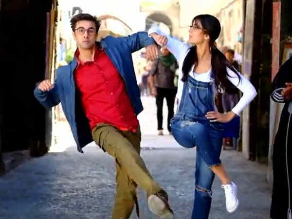 Kat On Dancing With 'Jagga' Ranbir