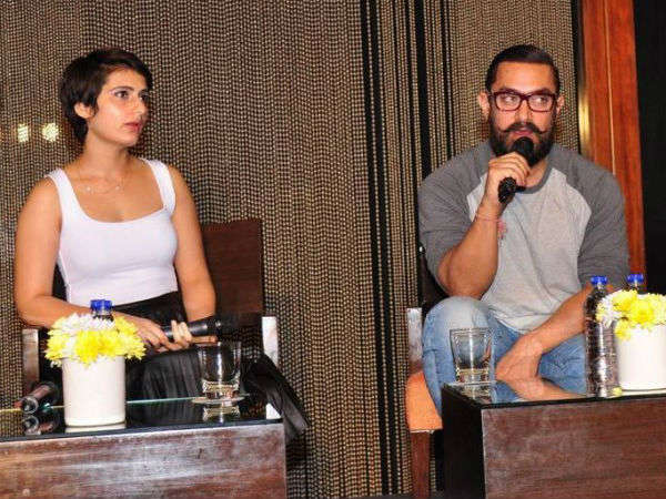 When Fatima Spoke About Her Equation With Aamir Khan