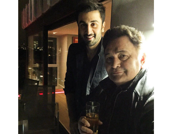 Rishi Kapoor On Why Ranbir Doesn't Smoke In Front Of Him