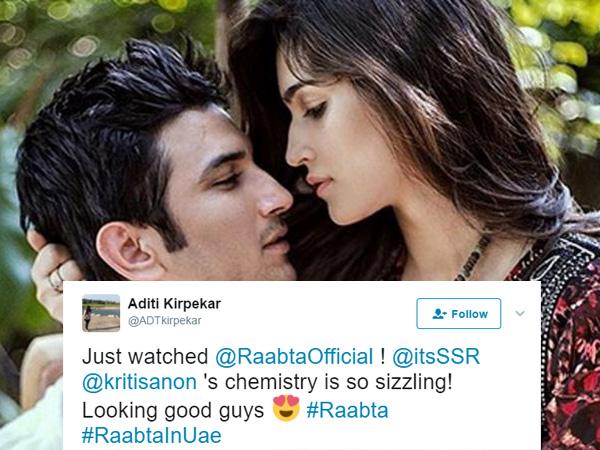 Raabta Movie Review, Raabta Review Live Audience Update