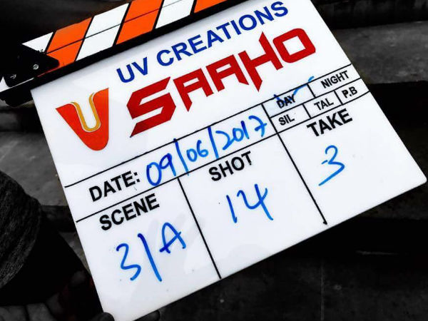 Currently, Saaho Shoot Is Going On In Hyderabad