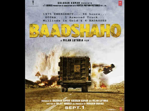 First poster of 'Baadshaho' promises an action-packed ride