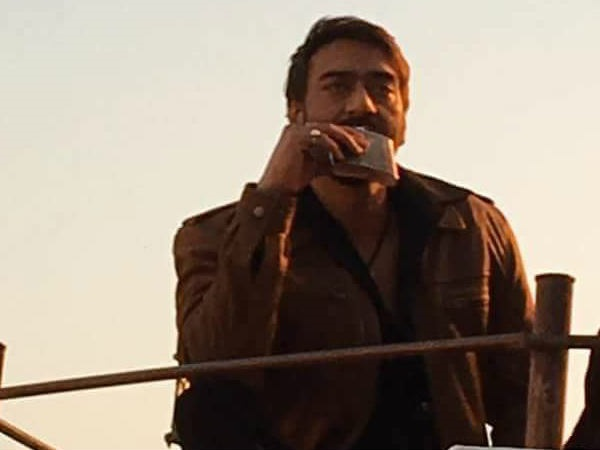 Badshaho poster released !! Ajay Devgn looks BADASS with burning eyes