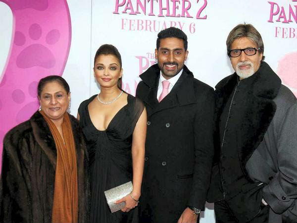 Bachchans In Black!