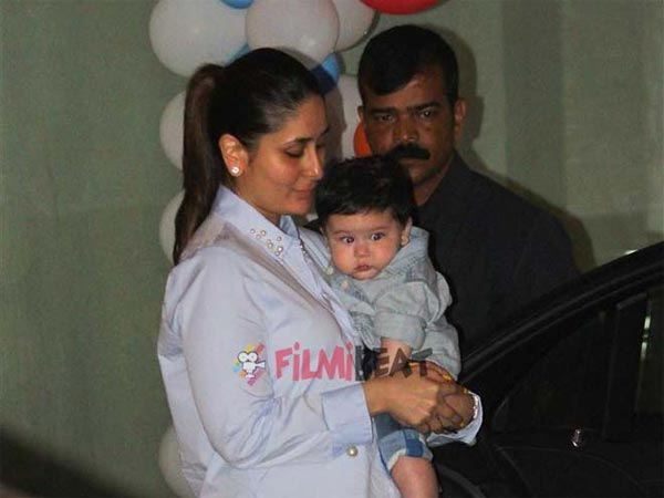 When Kareena Attended This Party With Taimur