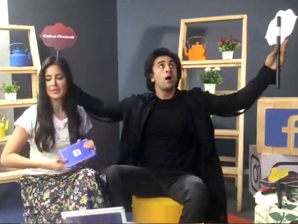 When Katrina Made Ranbir Laugh Really Hard