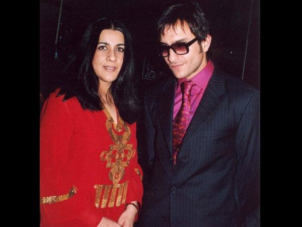BIG SHOCKER! Amrita Singh Had A Huge Fight With Saif Ali Khan; Highly Upset With Him!