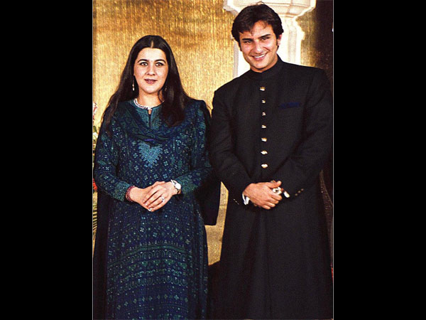 Amrita, I On Same Page About Sara's Acting Debut: Saif Ali Khan