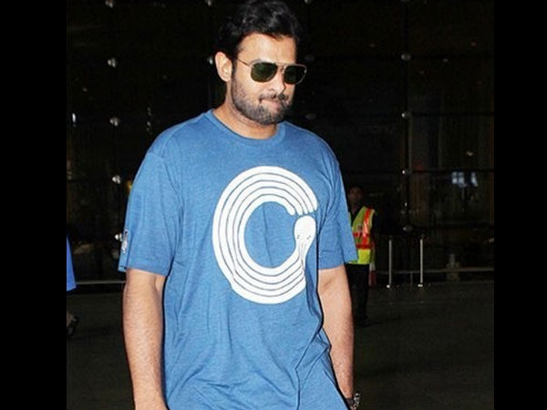 Prabhas At The Airport