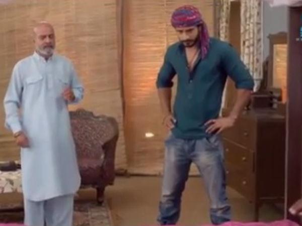 Abhi, Pragya leave from Raghuveer's house