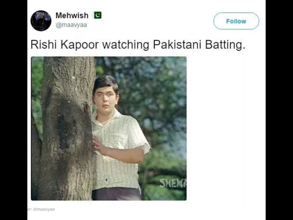 Pakistani Cricket Fans ROAST Rishi Kapoor For Badmouthing Their Team With Hilarious Memes!