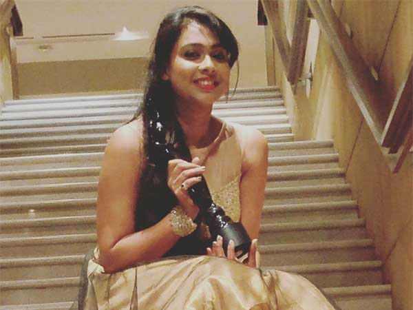 "Best Female Playback Singer – Ananya Bhat for ""Namma Kaayo Devare"" from Rama Rama Re.."