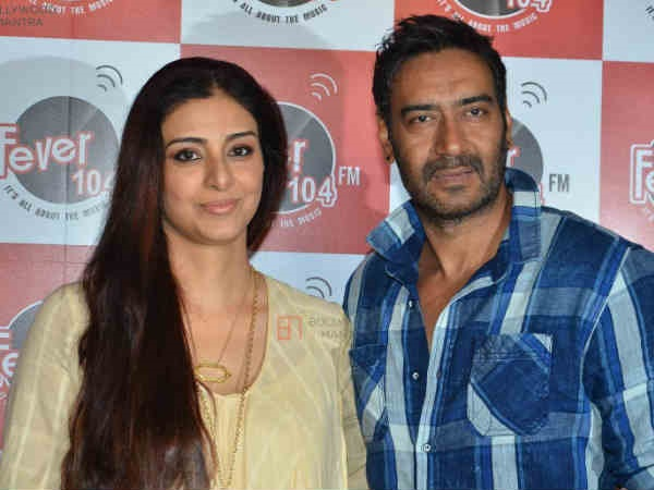 Ajay Was Tabu's Cousin Brother's Neighbour