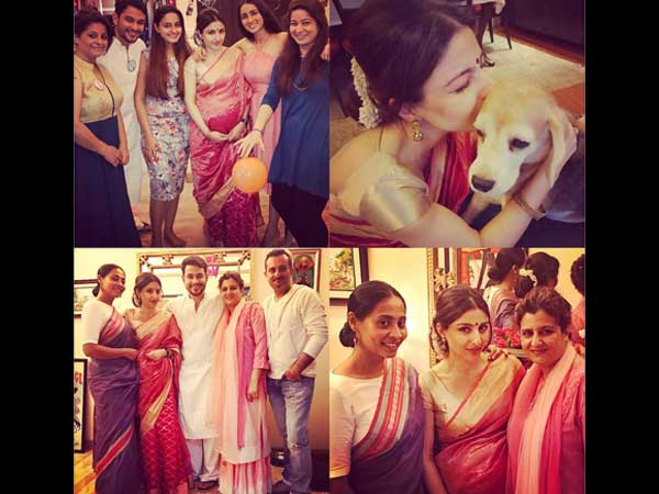 Soha With Her Family.
