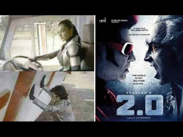 Robo 2.0 Pictures Get Leaked Online.