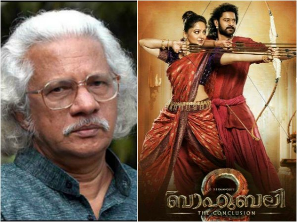 SHOCKING! Adoor Gopalakrishnan Isn't Impressed With Baahubali!