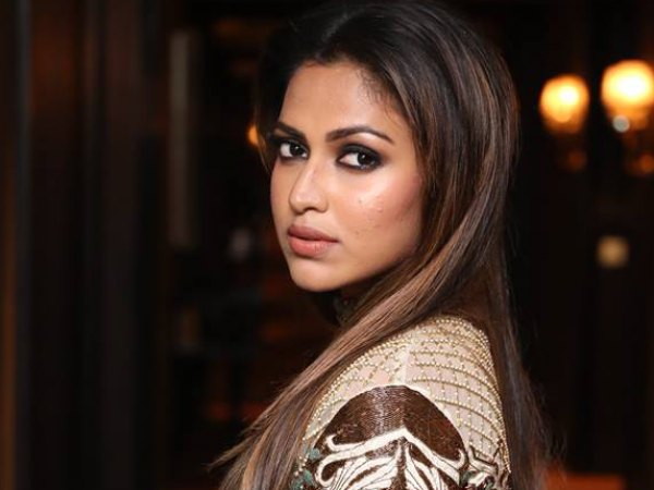 INTERESTING! Look Who Was Found Gymming With Amala Paul!