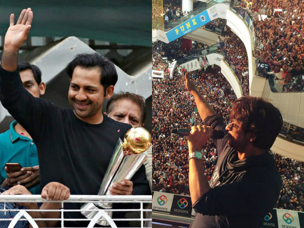 Pakistani Cricket Fan DARES To Compare Sarfraz Ahmed With Shahrukh Khan! Gets Trolled Mercilessly