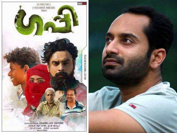 Fahadh Faasil With 'Guppy' Director Johnpaul George?