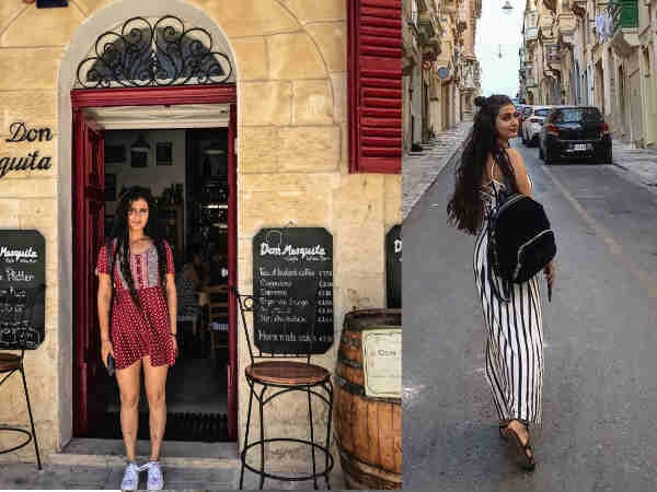 Thugs Of Hindostan: Fatima Sana Shaikh Is Having A Blast In Malta Between The Shoots!