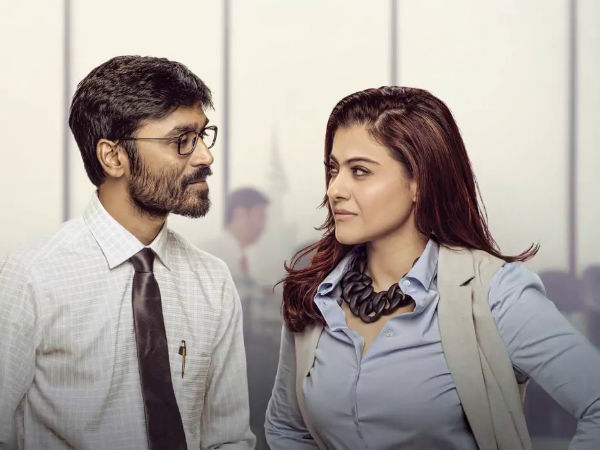 A Thorough Professional! Kajol Thanks Dhanush For Breaking Her Language Barrier