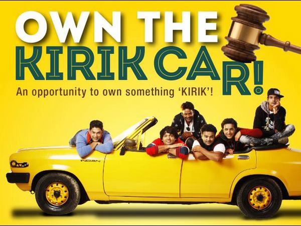 kirik party car auction