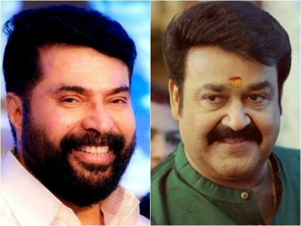 These Selfies Of Mammootty & Mohanlal Are Just Like An Ode To Friendship!